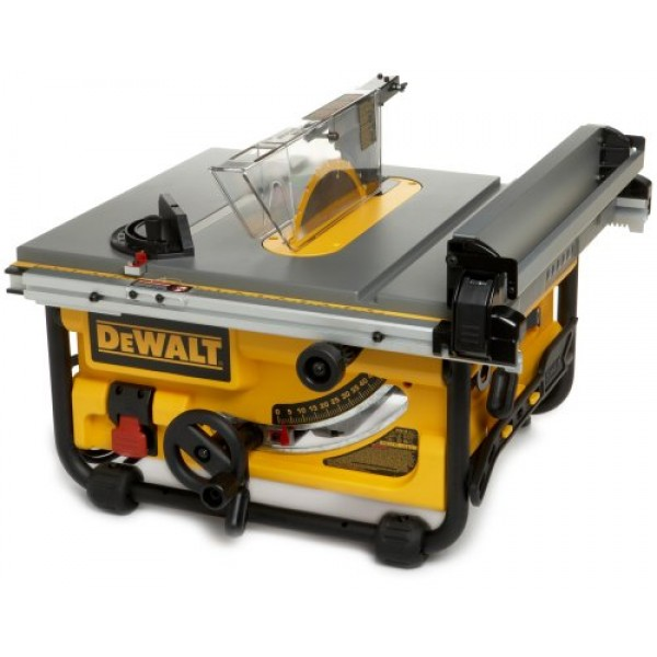 Dewalt dw745 10 inch compact job site table saw with 20 for 10 dewalt table saw