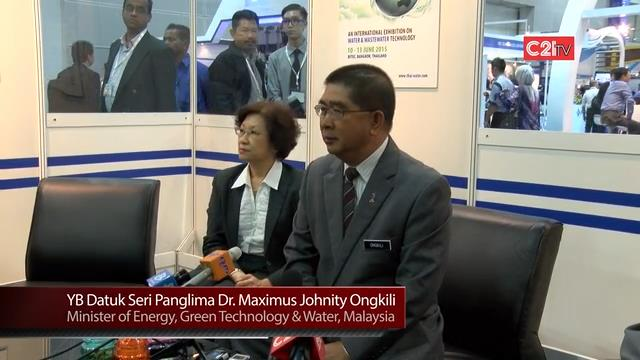 Minister Lauds Asia Water 2014 As Region's Nexus Platform for Industry Players