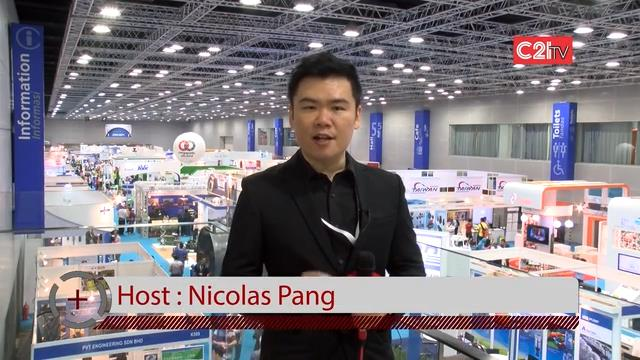 C21TV Makes A Splash at Asia's Highest-Exhibitor-Volume Industry Water & Wastewater Event