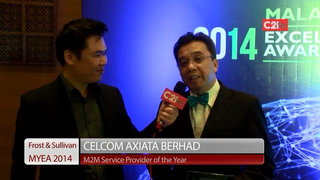 Celcom Axiata ~ Malaysia Excellence Awards 2014 for ICT