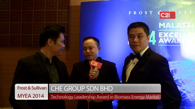 CHE Group ~ Malaysia Excellence Awards 2014 for Energy