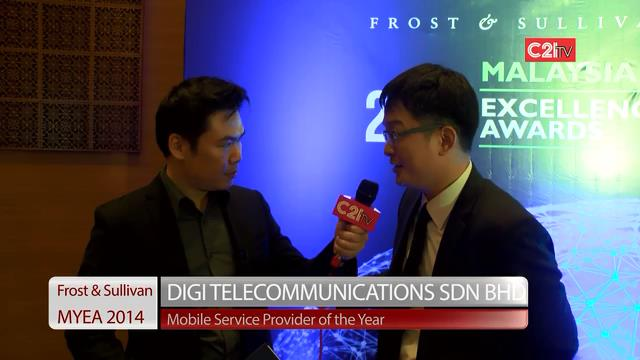 DIGI Telecommunications ~ Malaysia Excellence Awards 2014 for ICT