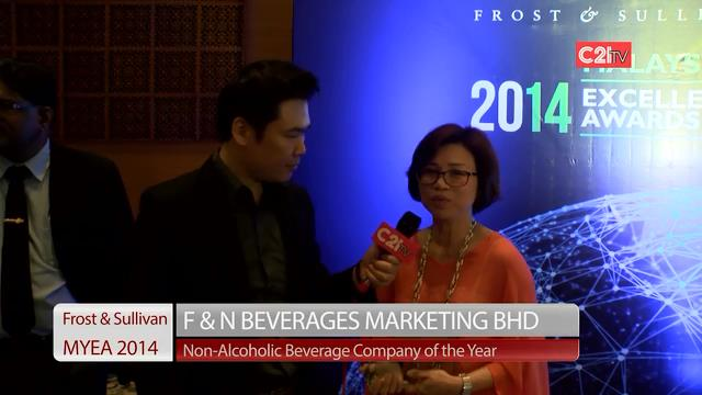 F&N Beverages ~ Malaysia Excellence Awards 2014 for Food