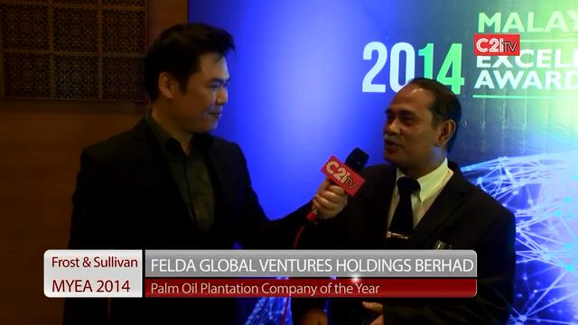 FGV Holdings ~ Malaysia Excellence Awards 2014 for Chemicals, Materials & Food