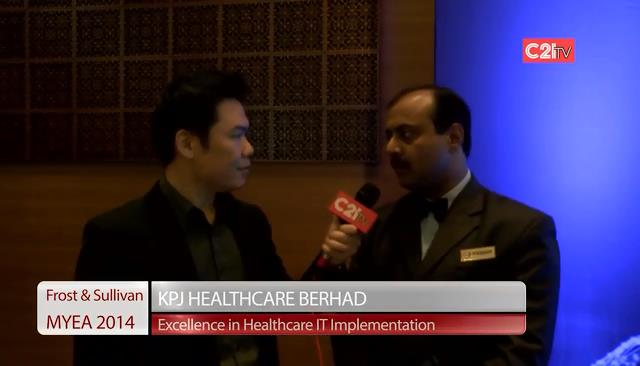 KPJ Healthcare ~ Malaysia Excellence Awards 2014 for Healthcare