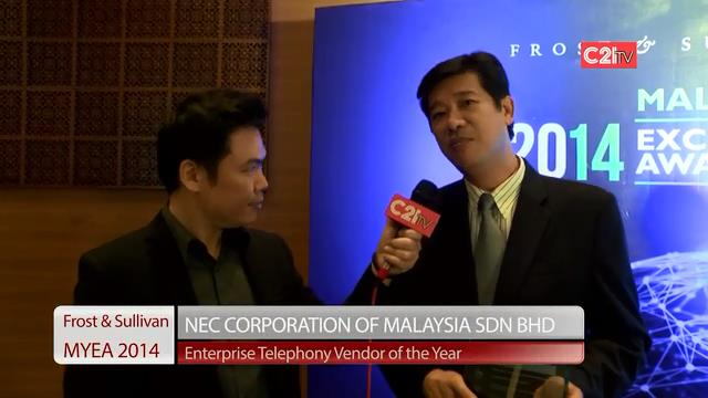 NEC Corporation ~ Malaysia Excellence Awards 2014 for ICT