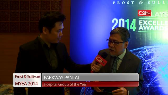 Parkway Pantai ~ Malaysia Excellence Awards 2014 for Healthcare