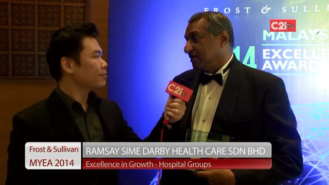 Ramsay Sime Darby Health Care Group ~ Malaysia Excellence Awards 2014 for Healthcare