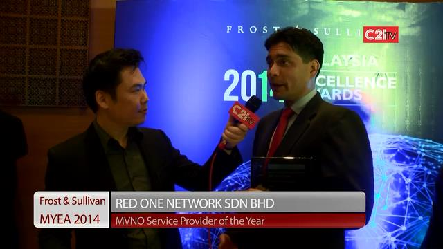 Red One ~ Malaysia Excellence Awards 2014 for ICT