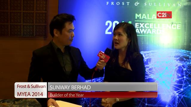 Sunway ~ Malaysia Excellence Awards 2014 for Environment & Building
