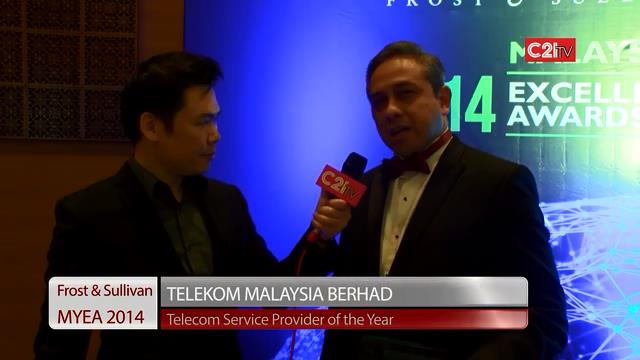 Telekom Malaysia ~ Malaysia Excellence Awards 2014 for ICT