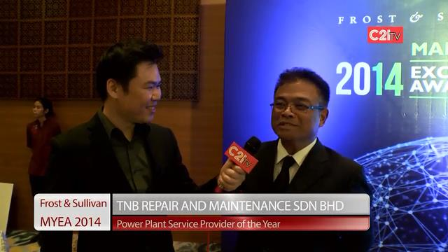 TNB Repair & Maintenance ~ Malaysia Excellence Awards 2014 for Power Systems