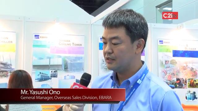 EBARA Commands A Snappy Market in Refrigeration Systems with Japanese Technology