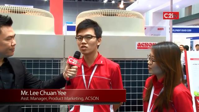 ACSON Excels in AC Innovation with Variable Refrigerant AC via Inverter Modular Chiller Technology