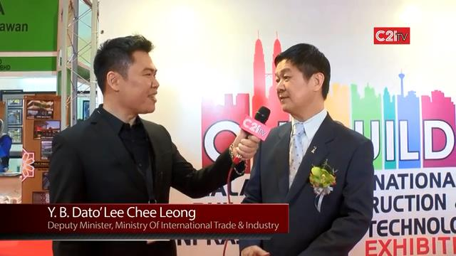 C21TV Accentuates the Axiom of Sustained Industry Growth via Collaboration & Innovation with Deputy Minister of MITI ~ on Ecosystem Nurturing Platform of ONEBUILD & ASEANMACH