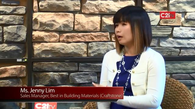 Best in Building Materials Banishes All Doubt on Artificial Stone Brand CRAFTSTONE as Top of Line Choice for High-end ID, Building Facade, and Landscaping Feature