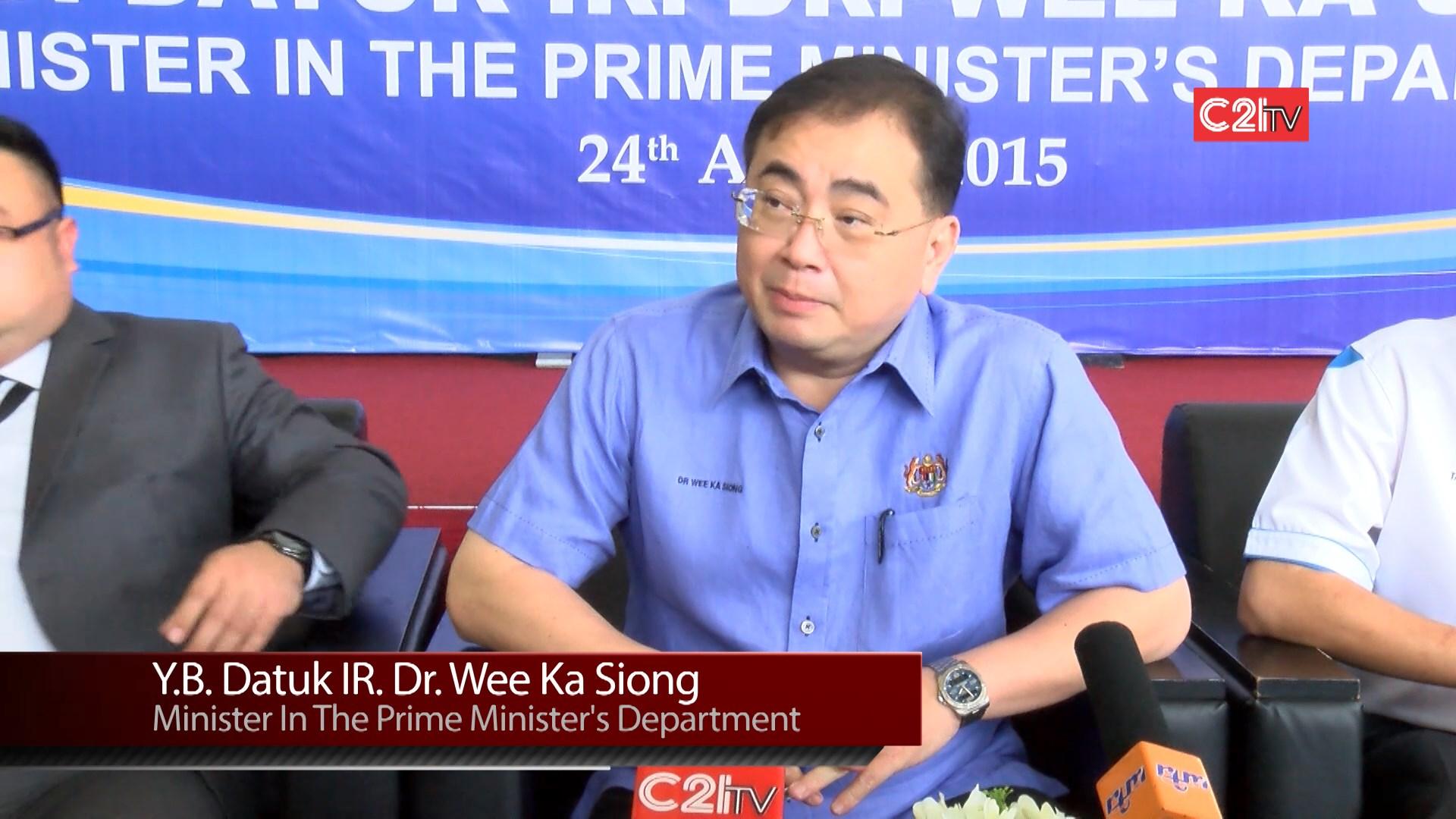OneBuild@JB 2015 - Y.b. Datuk Ir. Dr. Wee Ka Siong