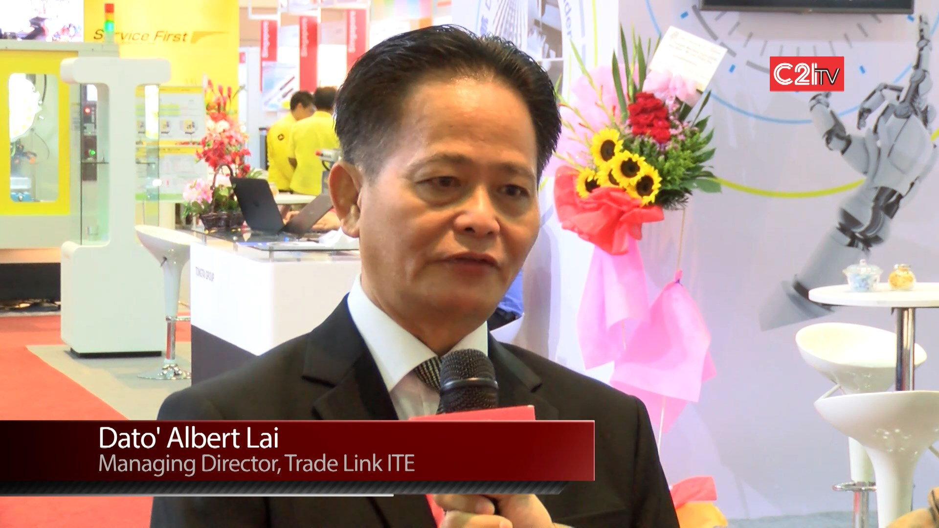 Dato' Albert Lai - Managing Director (Trade Link ITE) METALTECH 2015