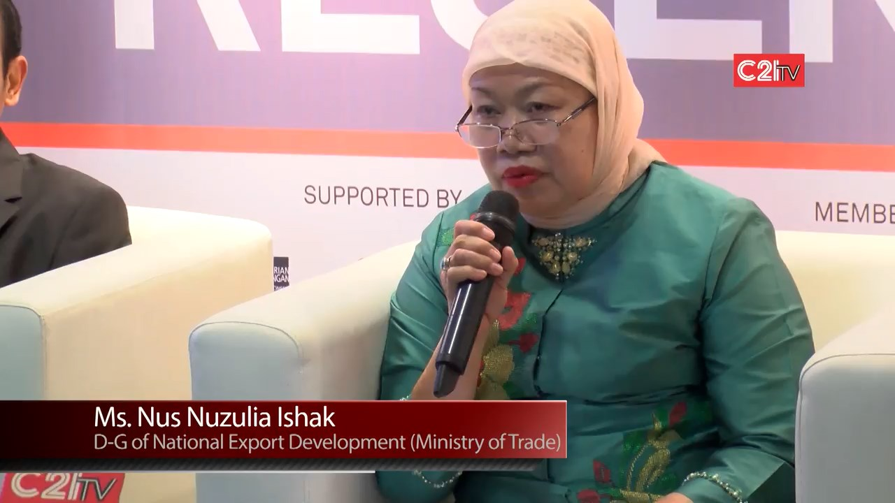 Indo BuildTech 2015 Press Conference With National Export Development Indonesia