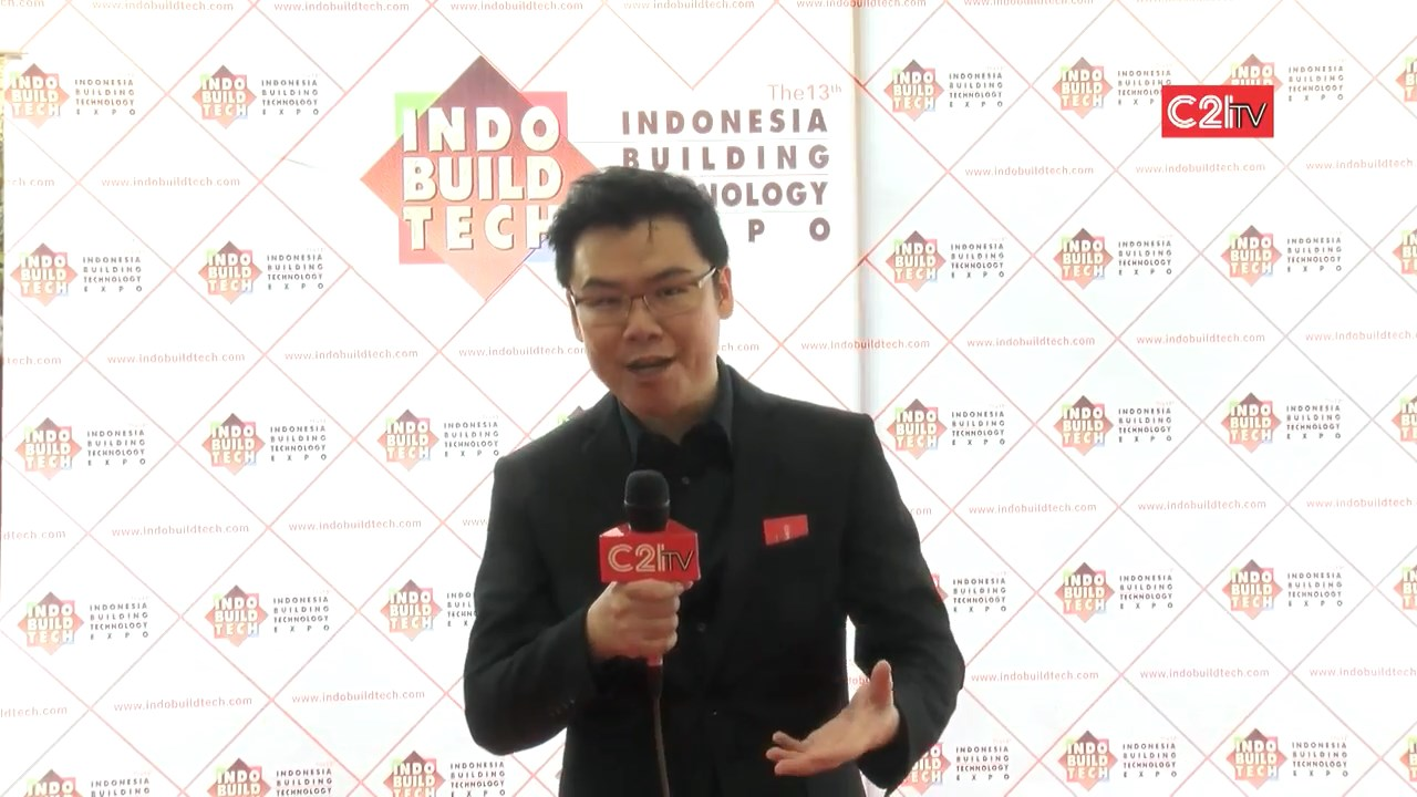 Opening Of Indo BuildTech 2015 in Jakarta with C21TV