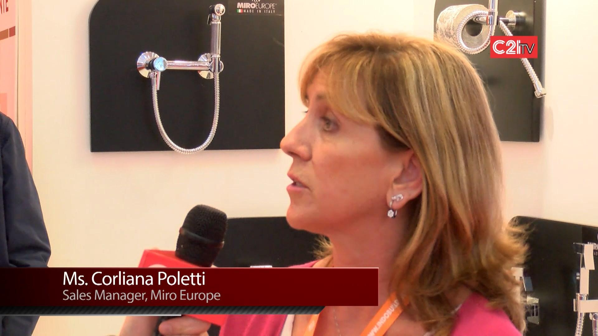 Italian Design Aesthetics on Premium Range of Personal Comfort Irrigation, Shower Systems