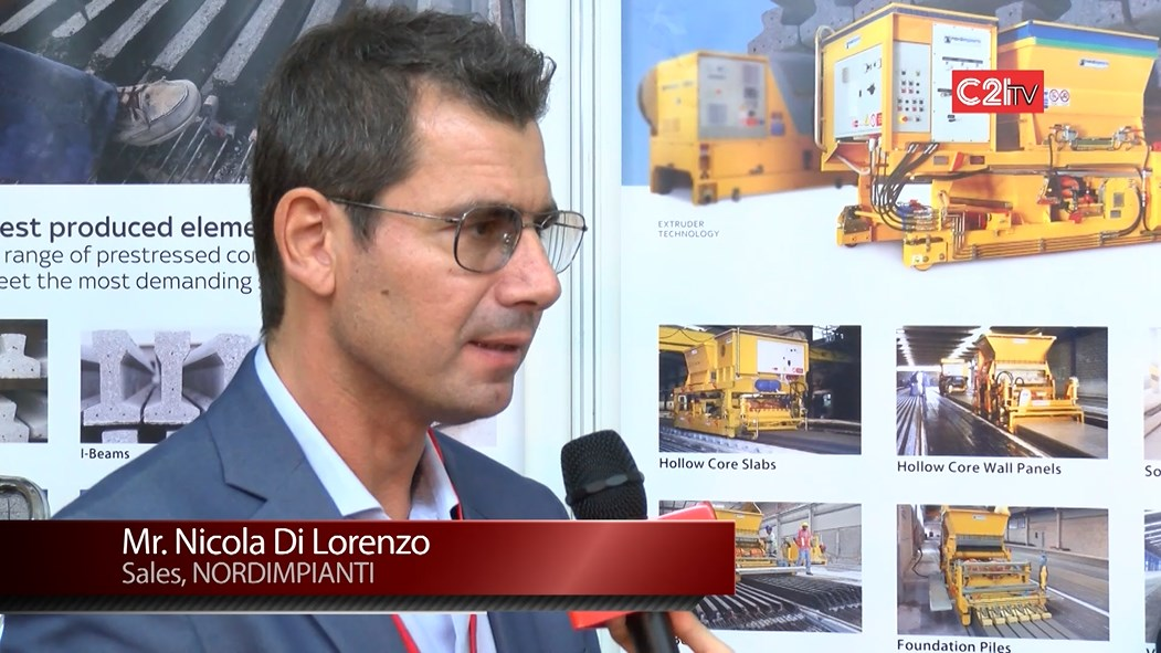 Nordimpianti from Italy Provided Three Unique Solutions for Concrete Slab Manufacturing With Complete