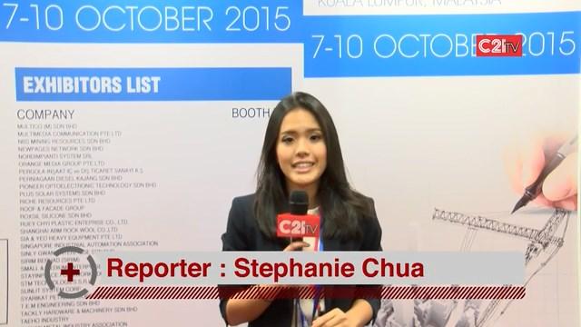 C21TV @ BuildTech 2015, PWTC, Kuala Lumpur